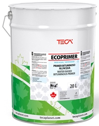 Ecoprimer, water based bituminous primer